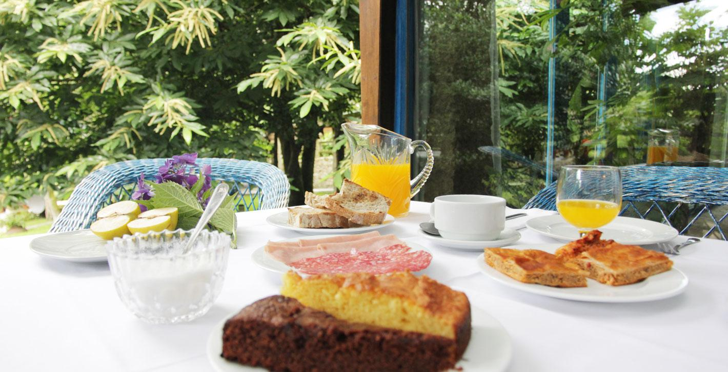 Desayuno Casa Perfeuto María