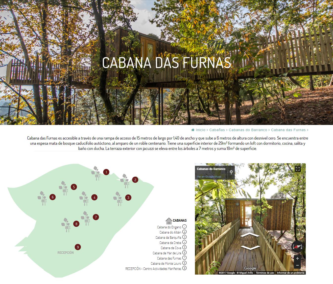 Ficha de finca Cabañitas del Bosque