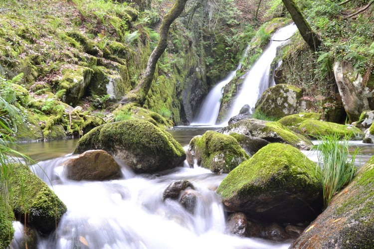 Cascada de Santa Leocadia